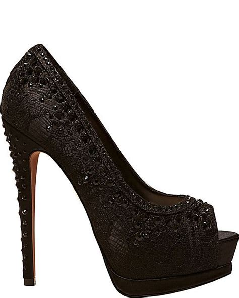 black lace evening shoes shoes and