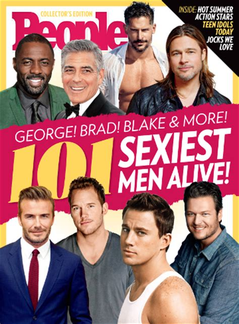 People Sexiest Men Sexiest Alive Magazine Cover Template