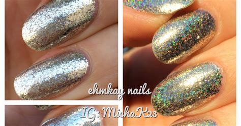 Nail Month At Blogdorf Goodman by Ehmkay Nails F U N Lacquer Payday Holo With Nyc Bergdorf
