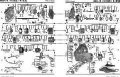 general motorsfwd 4t60e transmission parts