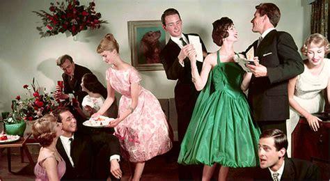 retro themed events 1950 s party vintage party photo via habitually chic