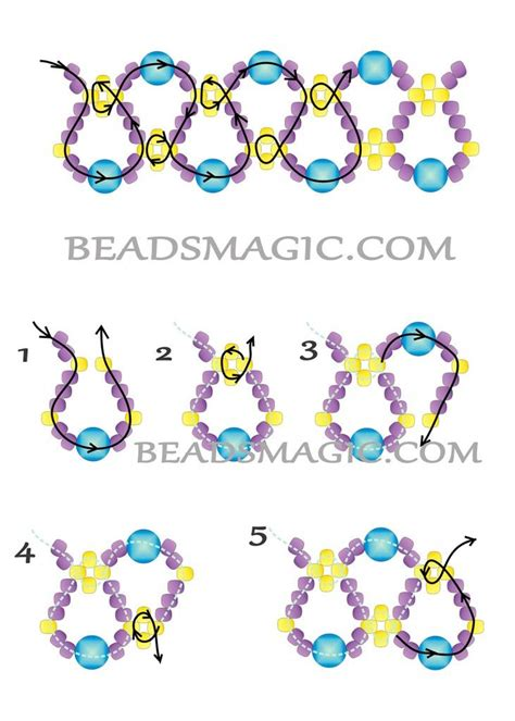 pattern magic tutorial 1000 images about beading on pinterest seed bead