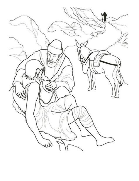 good samaritan coloring page printable 40 coloring page good samaritan good samaritan