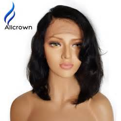 trendy hair styles for wigs alicrown wet wavy lace front human hair wigs brazilian