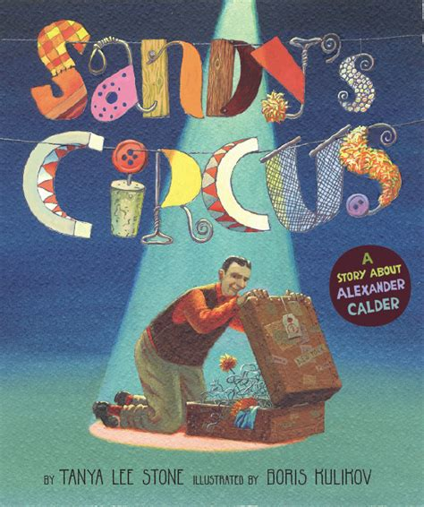 circus picture books calder and his circus stories