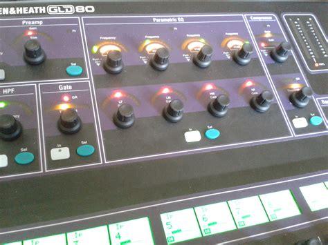 Mixer Allen Heath Gld 80 allen heath gld 80 image 958626 audiofanzine