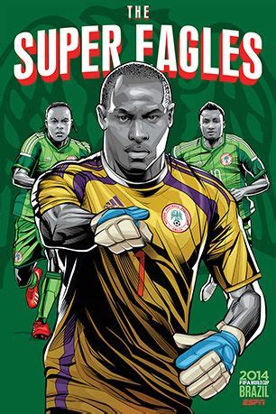 world cup 2014 team posters mocha man style