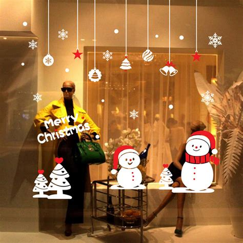 christmas decorations for home wall stickers home decor