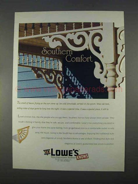 1996 lowe s home improvement ad southern comfort