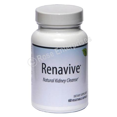 Global Health Kidney Detox by Renavive Kidney Cleanse 60 Capsules 798304030570