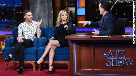 A Frenzy On Late Show Tomorrow Wednesday by Reese Witherspoon To Adam Rippon This Was Meant To Be Cnn