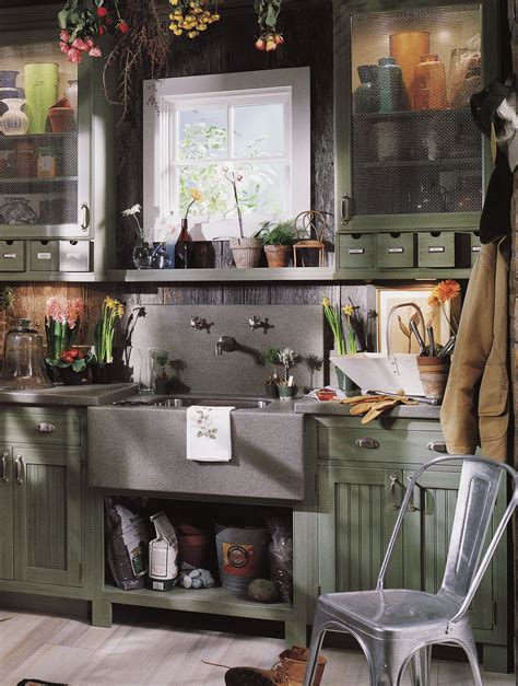 potting shed interior with rustic country design idea the ultimate potting shed