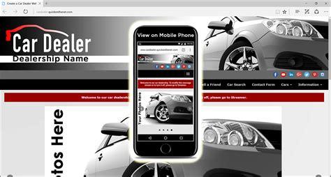 car dealer website template mybissim 28 images car