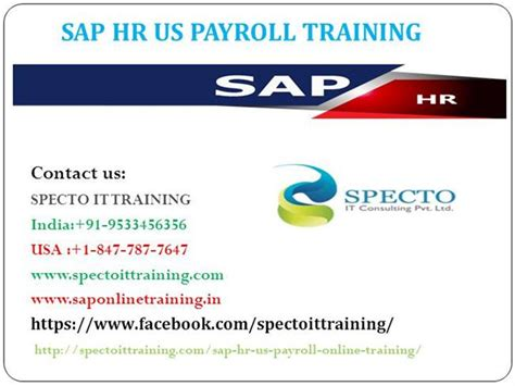 Sap Courses For Mba Hr by Sap Hr Us Payroll In Usa Authorstream