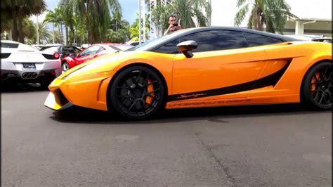 Lamborghini Gallardo Sound by Lamborghini Superleggera Gallardo Engine Sound Prestige