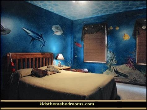 Sea themed furniture for your kids bedroom interior design