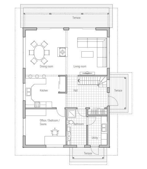 floor plans and cost to build affordable home ch137 floor plans with low cost to build