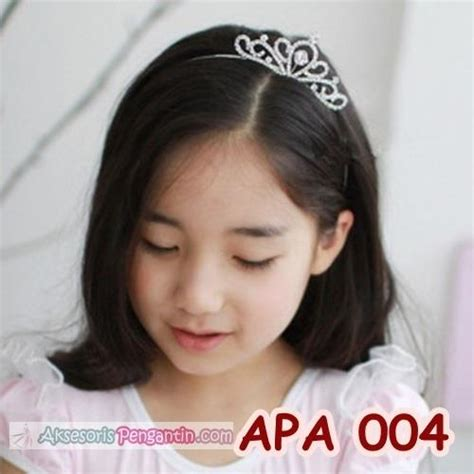Jepit Rambut Anak Topi jual mahkota rambut pesta anak perempuan l aksesoris bando mahkota apa 004 harga murah surabaya