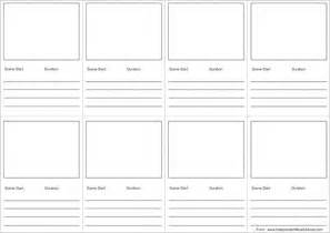 free storyboard templates for word audio storyboard template 7 free word excel