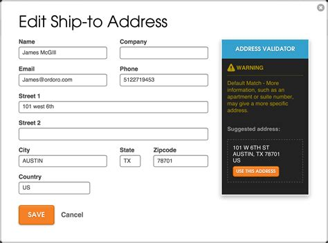 Adressaufkleber Bestellen by Ensuring Order Delivery To The Correct Address Ordoro