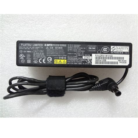 Adaptor Fujitsu 16v 3 75a adaptor fujitsu 16v 3 75a small version black