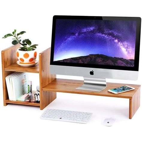 Computer Monitor Shelf For Desk Best 25 Monitor Stand Ideas On Pinterest White Desk Organiser With Drawers White Desks And