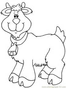 goat coloring pages goat of animation coloring pages