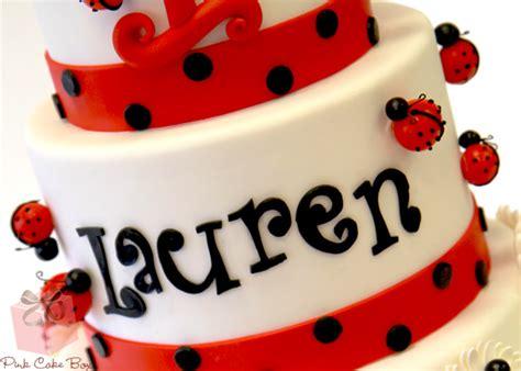 Ladybug Themed Birthday Cake {Ladybird} » Birthday Cakes