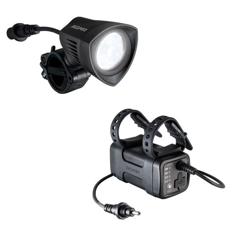 lights with battery pack light buster 2000 lumen black with battery pack sigma