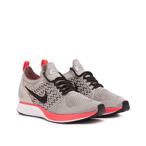 Nike Air Zoom Flyknit Racer by Nike Wmns Air Zoom Flyknit Racer String Black