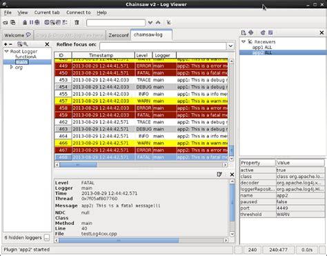 log4j pattern server name log4cxx c logging