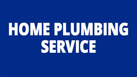 Plumbing And Home Services by Preventative Plumbing Maintenance Can Save You A Bundle In