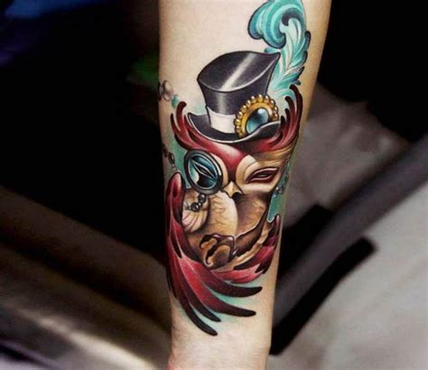owl tattoo hat 436 best top hat love images on pinterest patterns