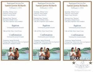 baptism program template printable baptism programburlap denim