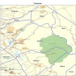 tuolumne county ca california maps map of california