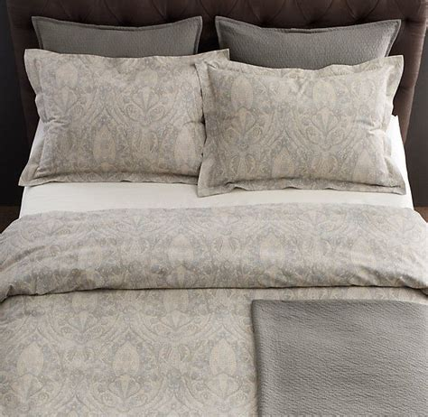restoration hardware coverlet italian 19th c medallion bedding collection restoration