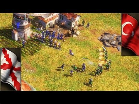 rush otomano age of empires 3 aoe 3 gameplay eso rush espa 241 ol vs otomanos age