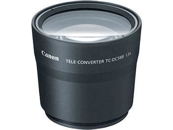 Lens Att 58mm canon tc dc58b 58mm 1 5x tele converter lens