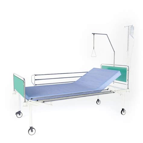 hospital bed with matress and wheels 3d model cgtrader