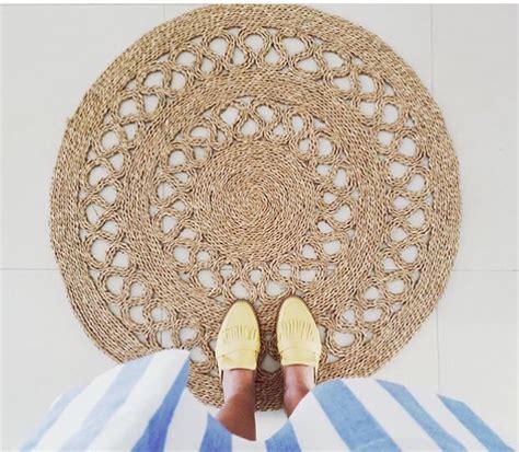 felpudo yute redondo alfombras redondas de colores alfombras redondas de