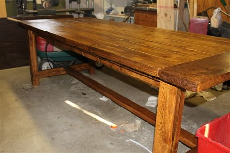 how to make your own dining room table make a table for your dining room sidetracked sarah
