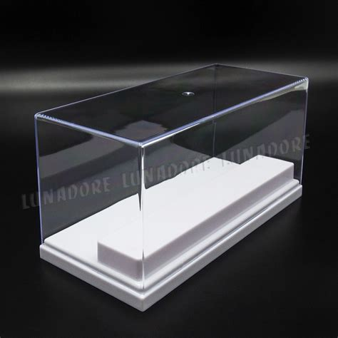 clear acrylic l base clear acrylic display box 7 87 quot l perspex case plastic 2