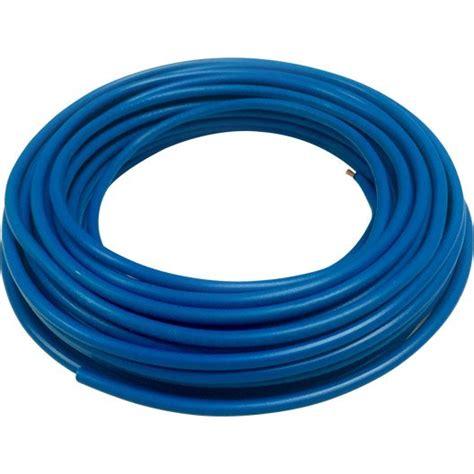 Fil Electrique Bleu by Fil 233 Lectrique H07vu Bleu 1 5 Mm 178 L 10 M Leroy Merlin