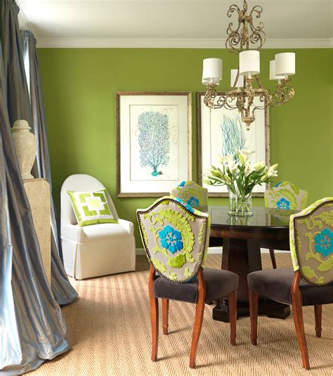 Green Dining Room Blue And Green Dining Room Room Design Ideas