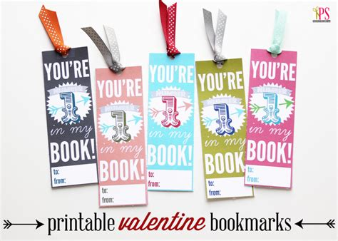 printable bookmark ideas cute valentine bookmarks the good stuff guide