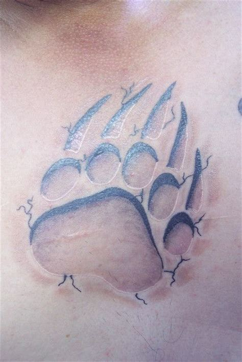 bear print tattoo 17 best images about tattoos on paw prints