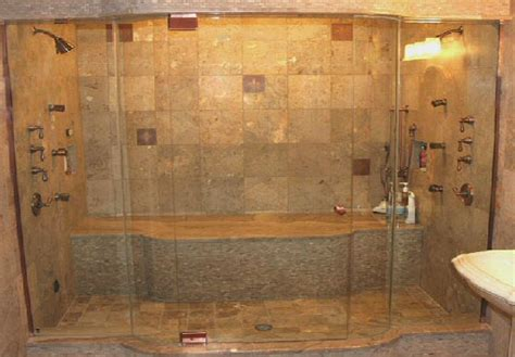 Big In Shower by Choosing The Right Glass Shower Door Tile Center