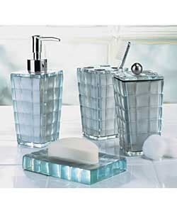 silver mosaic bathroom accessories silver mosaic 4 piece accessory set bathroom accessorie