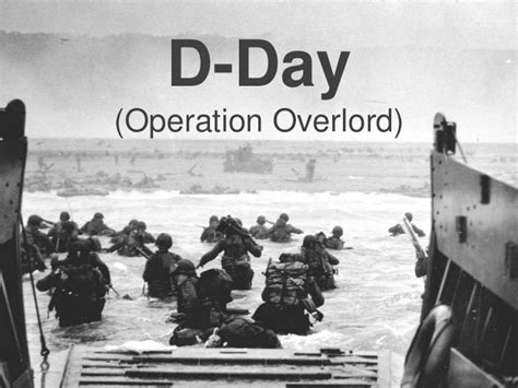 overlord d day and the 1509848649 d day operation overlord