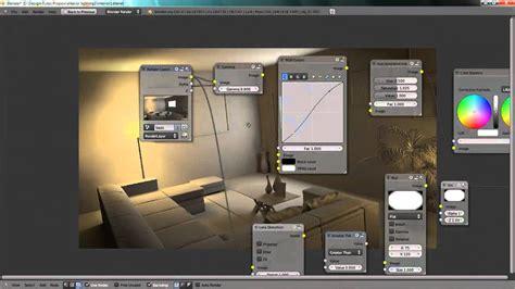 blender tutorial interior lighting  artificial lights